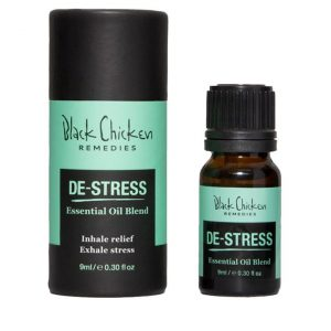 Black Chicken Remedies De-stress Essential Oil Blend 9ml
