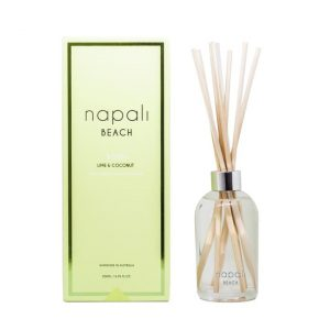 Bondi Fragrance Reed Diffuser Lime & Coconut 200ml