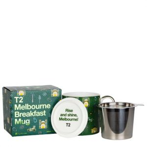 Iconic Melbourne Breakfast Mug with Infuser - T2 APAC Iconic Melbourne Breakfast Mug with Infuser - T2 APAC