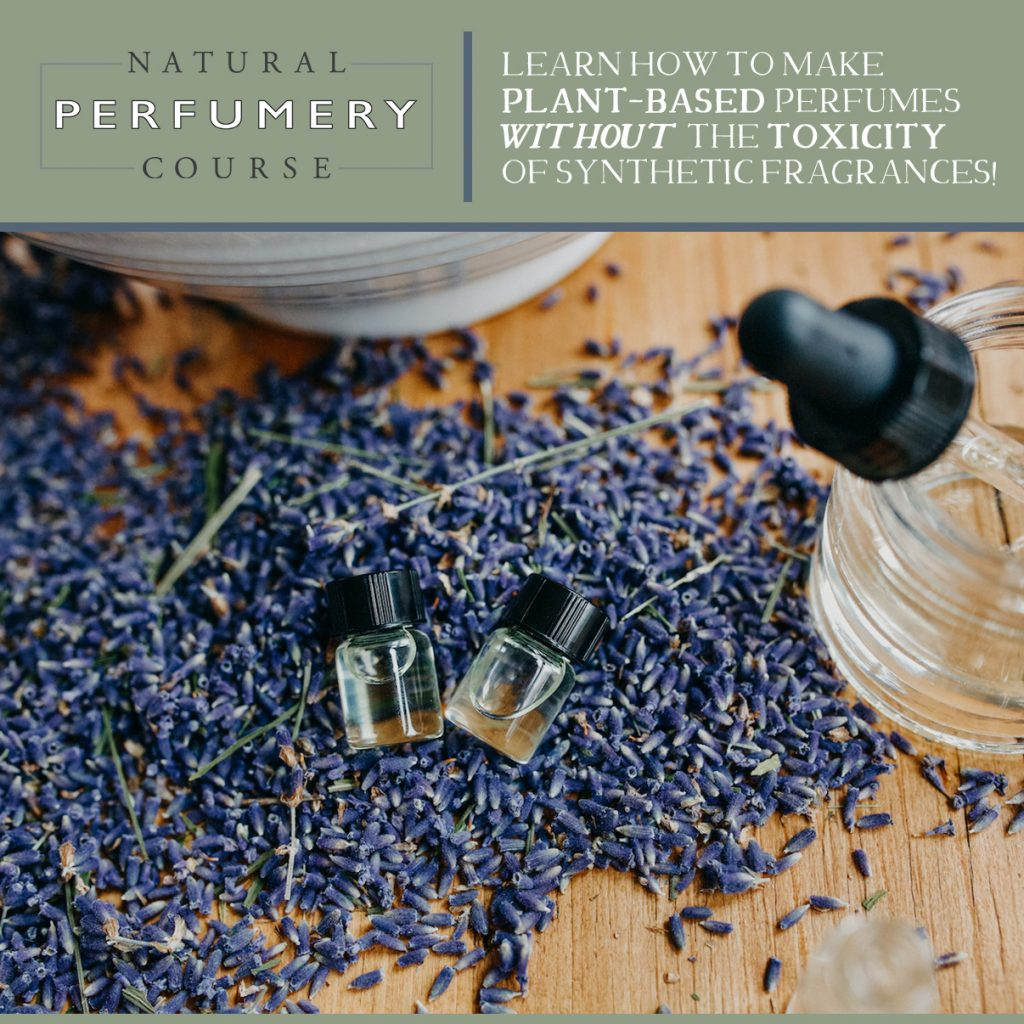 Natural Perfumery Course By Herbal Academy