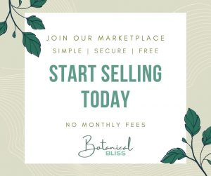 Start Selling Today Ad Botanical Bliss Marketplace