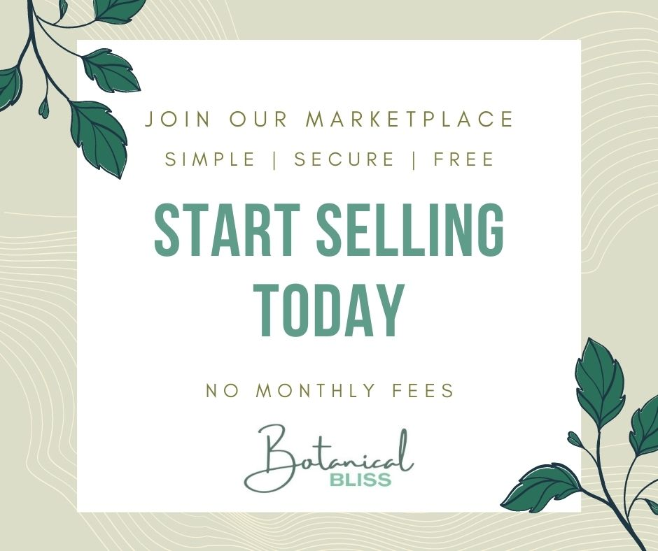 Sell on Botanical Bliss Marketplace