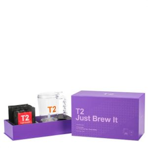 T2 Just Brew It - Teamaker & Assorted Tea Gift Pack T2 Just Brew It - Teamaker & Assorted Tea Gift Pack